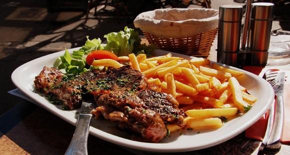 paris steak frites