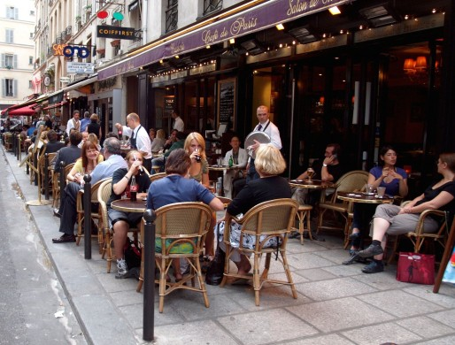 dining in france