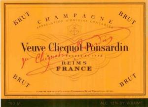 veuve clicquot ponsardin export