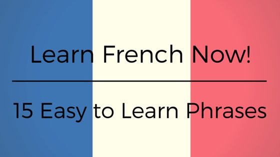 easy french phrases