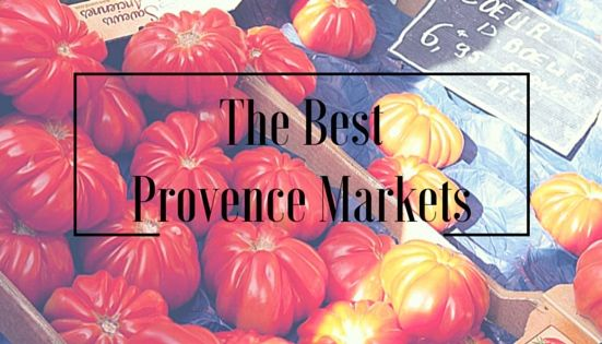 Best Markets of Provence