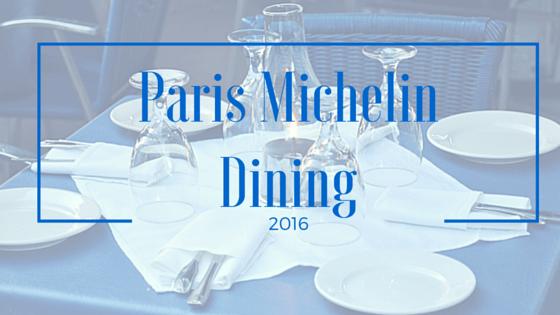 Paris Michelin Star