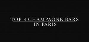 paris champagne bars