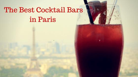 Paris cocktail bars