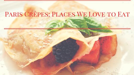 Best Paris crêpes
