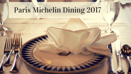 Paris michelin star