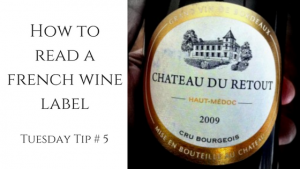 How toread afrench winelabel