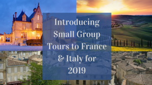 small group tours to France