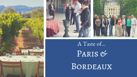 Paris Bordeaux Wine Tour