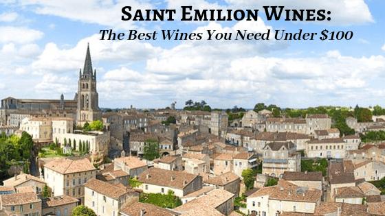 Saint Emilion Wines