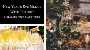 new years eve menus