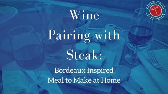 Wine Pairing with steak